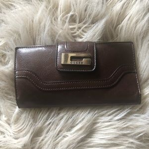 Brown Guess wallet